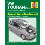 Touran Diesel 03-15 Revue Technique Haynes VW Anglais
