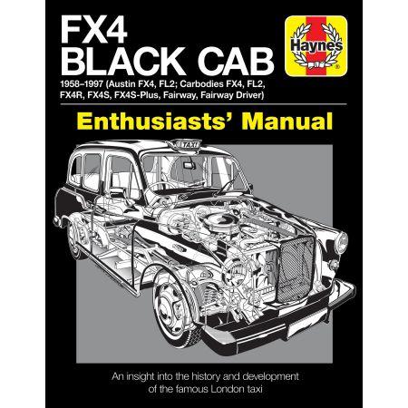 FX4 Black Cab Revue technique Haynes Anglais