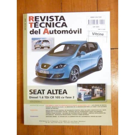 Altea II 05/2009- Revue Technique SEAT Espagnol