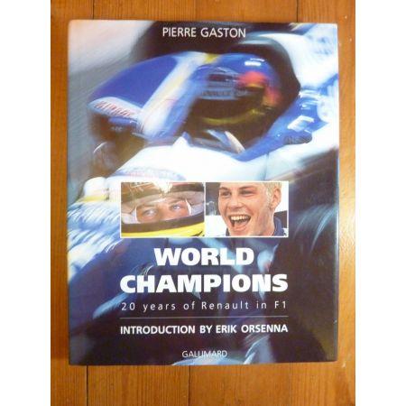 Champions F1 Livre Anglais