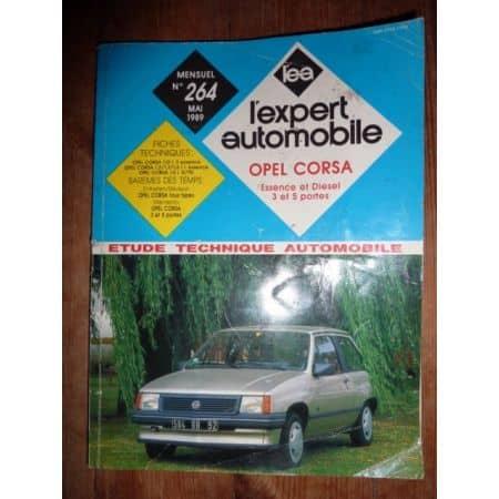 CORSA A REST Revue Technique Opel