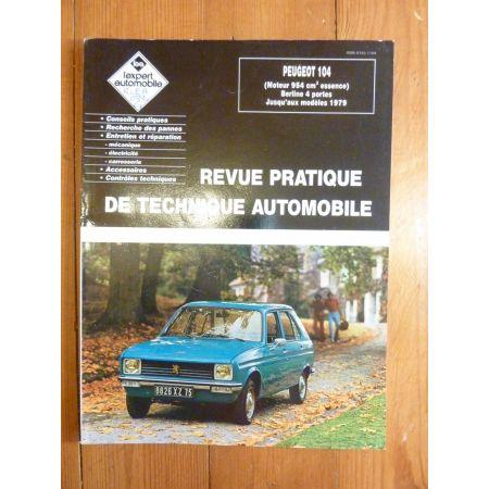 104 -79 Revue Technique Peugeot