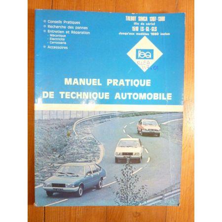 1307 1308 1510 -80 Revue Technique TALBOT SIMCA