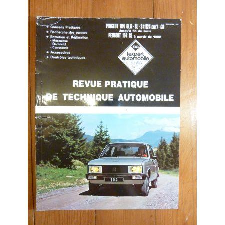 104 82- Revue Technique Peugeot