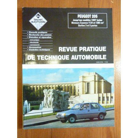 205 Ess -87 Revue Technique Peugeot