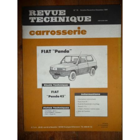 Panda 45 Revue Technique Carrosserie Fiat