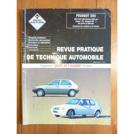 205 Ess 88- Revue Technique Peugeot
