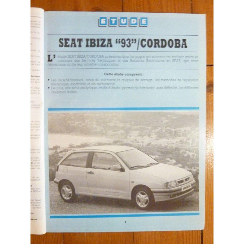 seat ibiza 93 et cordoba essence 1 3 1 4 1 6 1 8 1 8 16s 2 0 diesel 1 9 1 9 turbo. Black Bedroom Furniture Sets. Home Design Ideas