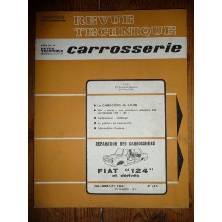 RTC0023C Revue technique Carrosserie FIAT 124 et Dérivés