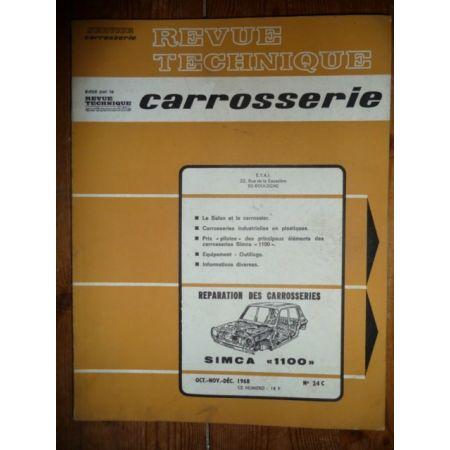 1100 Revue Technique Carrosserie Talbot Simca