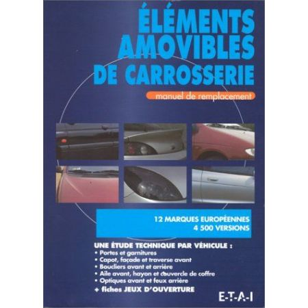 elements amovibles Carrosserie - Manuel Atelier