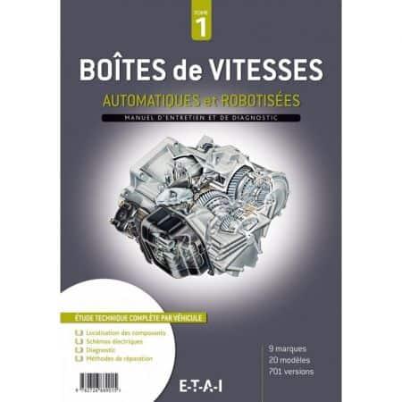 BV Auto robot T1 - Manuel Atelier