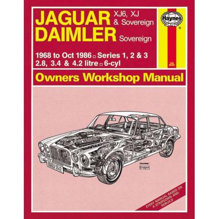 XJ6 XJ Sovereign 68-86 Revue technique Haynes JAGUAR Anglais