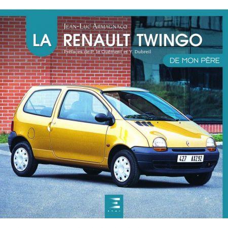 Twingo 1 de mon Pere RENAULT Livre