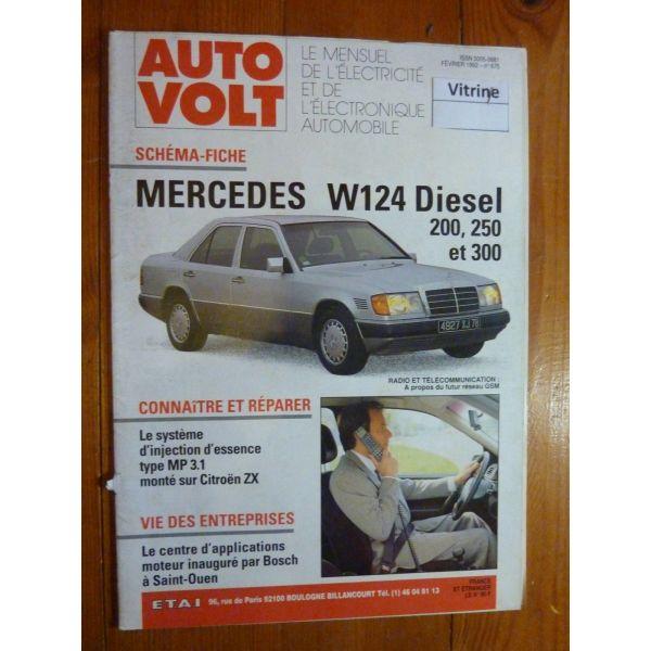 200 250 300 Revue Technique Electronic Auto Volt Mercedes