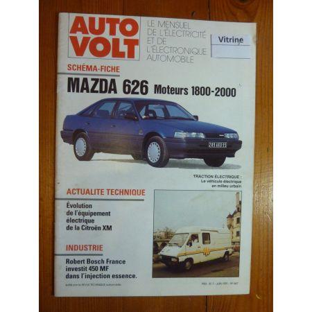 636 Revue Technique Electronic Auto Volt Mazda