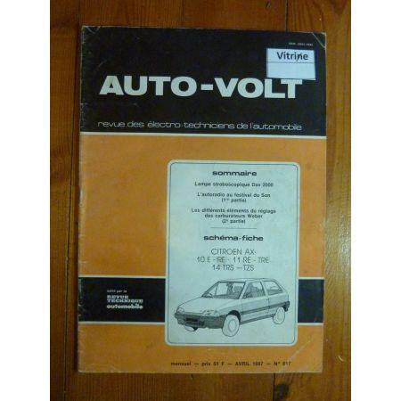 AX Revue Technique Electronic Auto Volt Citroen