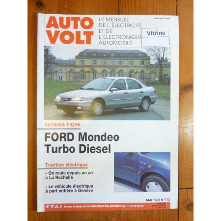 Mondéo TD Revue Technique Electronic Auto Volt Ford