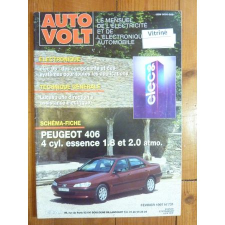 406 Ess Revue Technique Electronic Auto Volt Peugeot