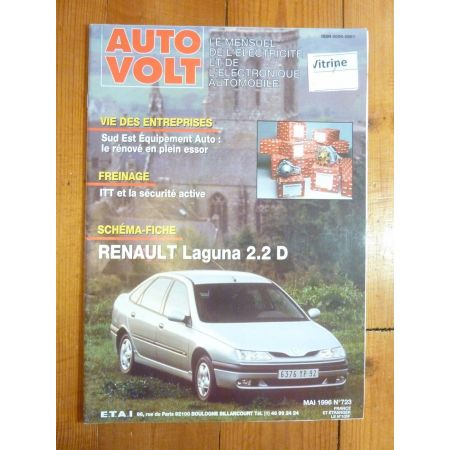 Laguna 2.2D Revue Technique Electronic Auto Volt Renault