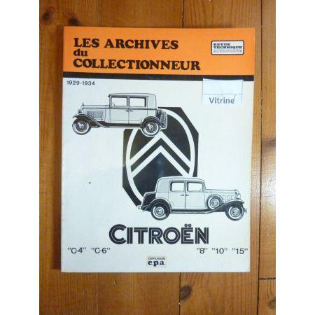 C4 C6 ROSALIE Revue Technique Les Archives Du Collectionneur Citroen