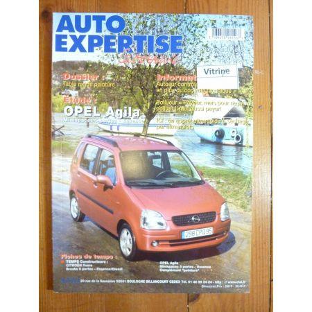 Agila Revue Auto Expertise Opel