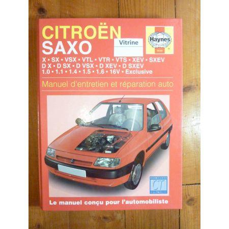 Saxo Revue Technique Haynes Citroën