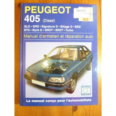 405 Die Revue Technique Haynes Peugeot