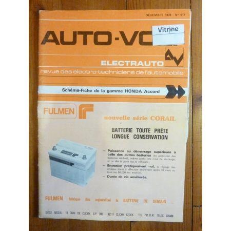 Accord Revue Technique Electronic Auto Volt Honda