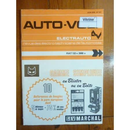 132 2000 Revue Technique Electronic Auto Volt Fiat