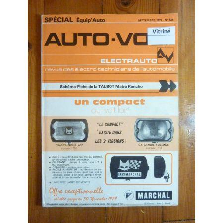 Rancho Revue Technique Electronic Auto Volt Talbot Simca