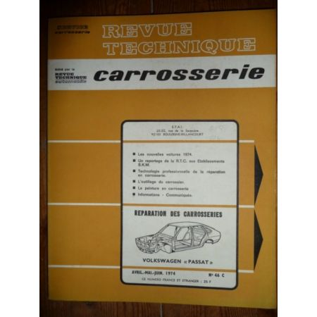 Passat Revue Technique Carrosserie Volkswagen