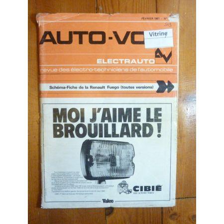 Fuego Revue Technique Electronic Auto Volt Renault