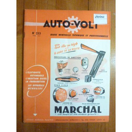 MC4 MC6 MB8 Revue Electronic Auto Volt Bernard