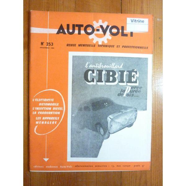 111 113 117  Revue Technique Electronic Auto Volt Volkswagen