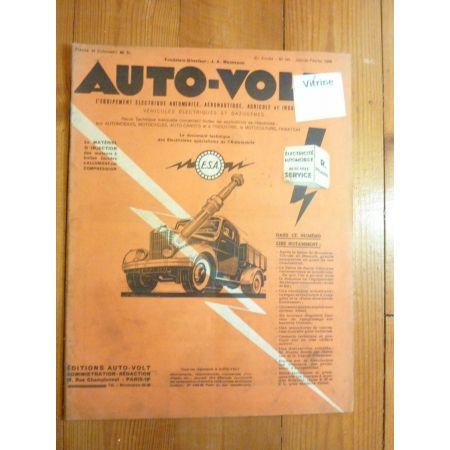 Magazine 0195 Revue electronic Auto Volt