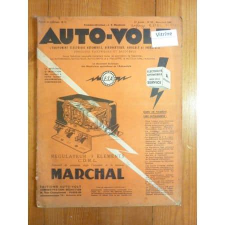 Magazine 0196 Revue electronic Auto Volt