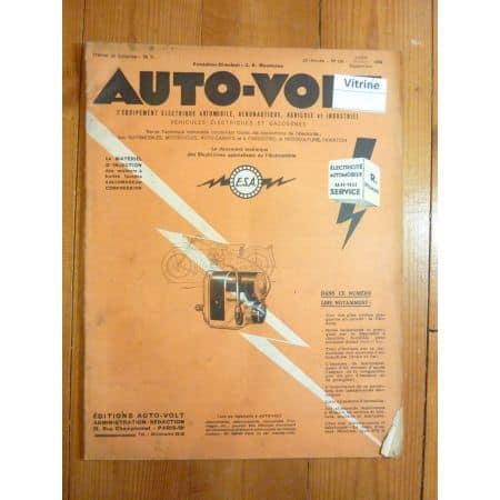 Magazine 0198 Revue electronic Auto Volt