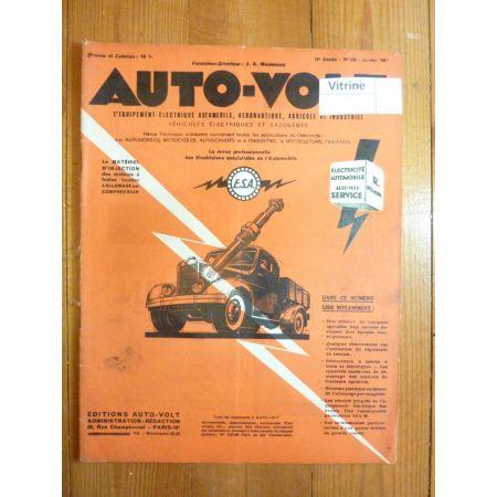 Magazine 0180 Revue electronic Auto Volt