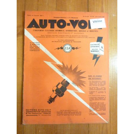 Magazine 0184 Revue electronic Auto Volt