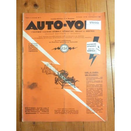 Magazine 0185 Revue electronic Auto Volt
