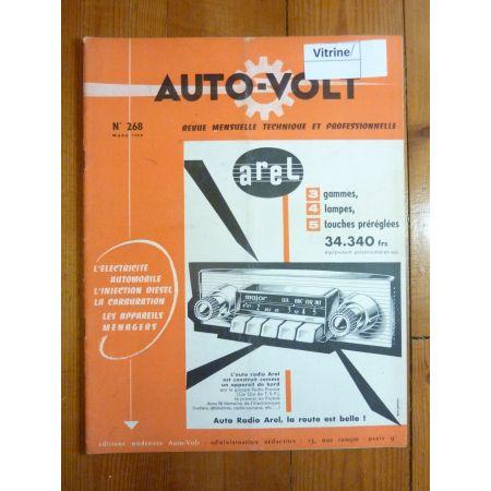 GBO 15 Revue Technique Electronic Auto Volt Berliet