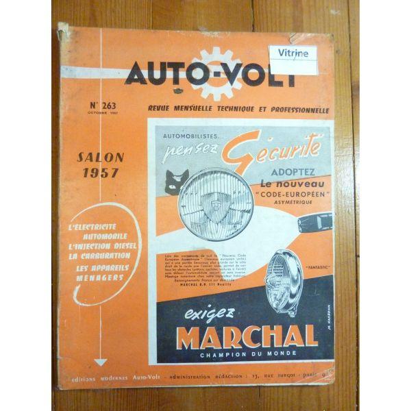 FACEL VEGA Revue Technique Electronic Auto Volt