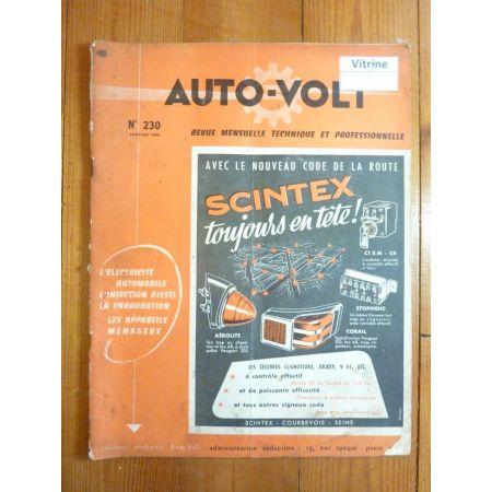 9 Aronde 54-55 Revue Electronic Auto Volt