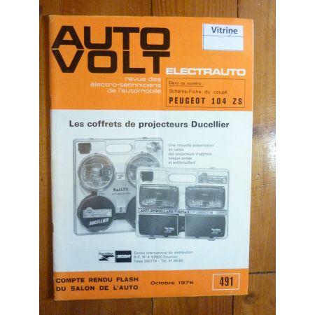 104ZS Revue Technique Electronic Auto Volt Peugeot