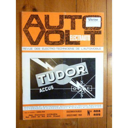 ND350 PD600 Revue Technique Electronic Auto Volt Citroen