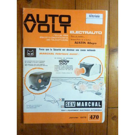 Allegro Revue Technique Electronic Auto Volt Austin
