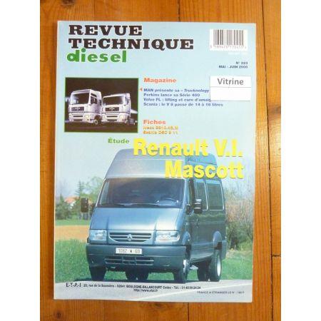 Mascott S1 Revue Technique Renault