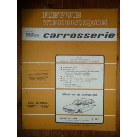 1307 1308 Revue Technique Carrosserie Talbot Simca