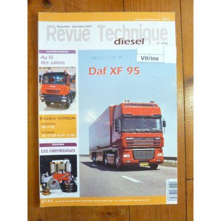 XF 95 Revue Technique PL Daf